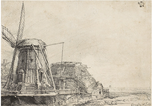 RembrandtWindmill